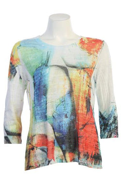 Artsy Crew Burnout Top