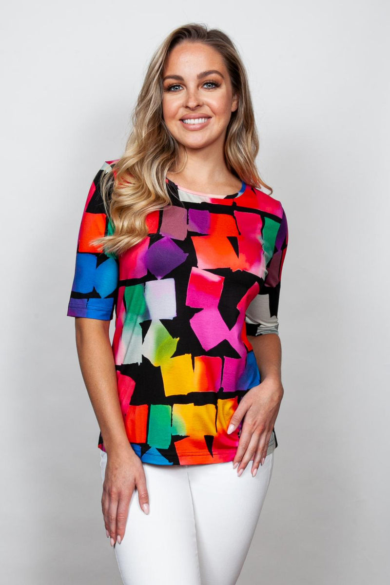 Colorful Cube Top