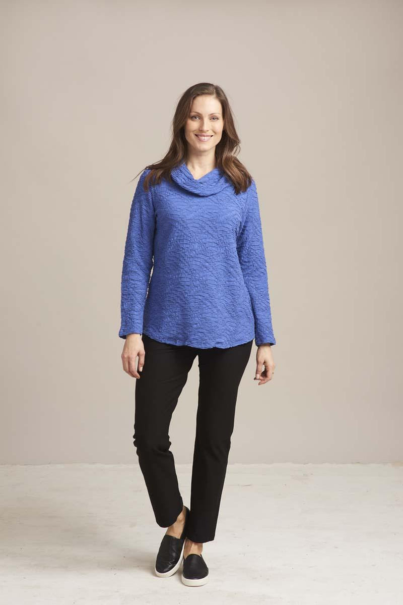 Twilight Cowl Text Tunic