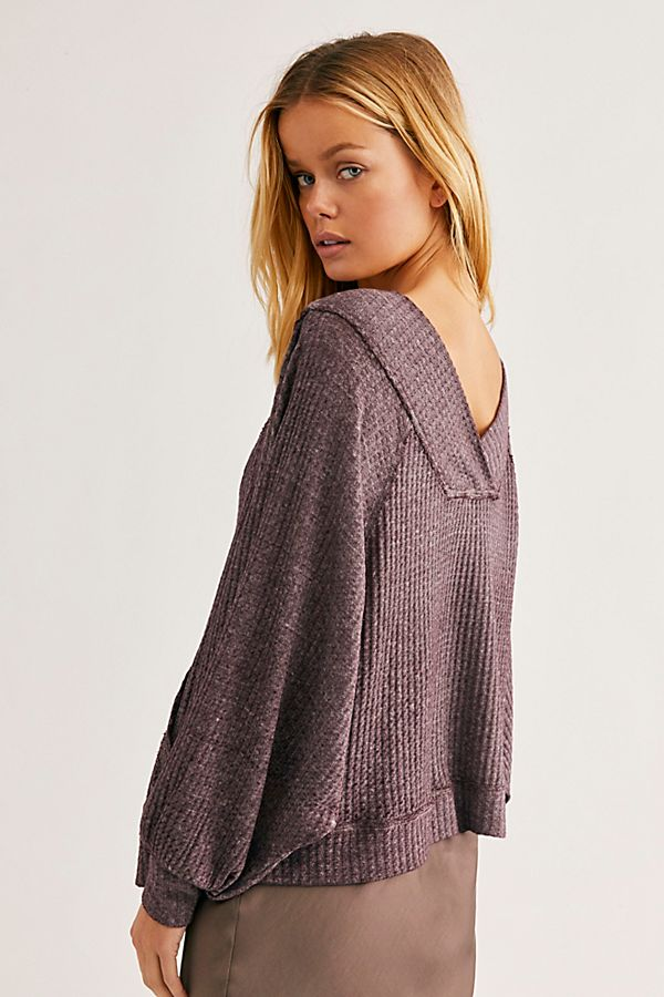 Thermal Poncho Pullover