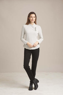 Lines Button Top
