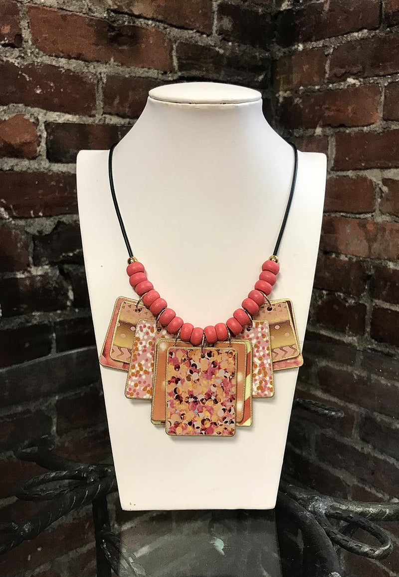 Coral Mix Necklace