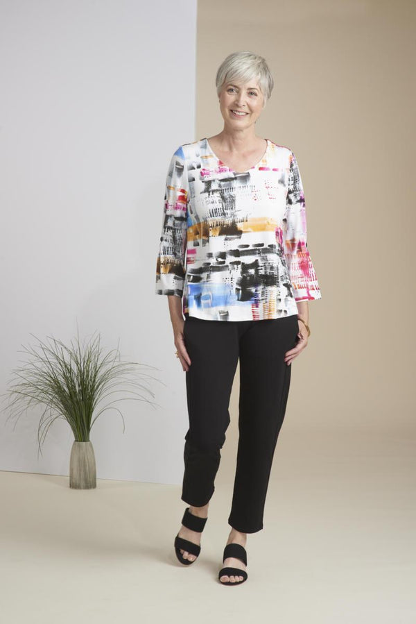 Metro Multi Rayon Swing Top
