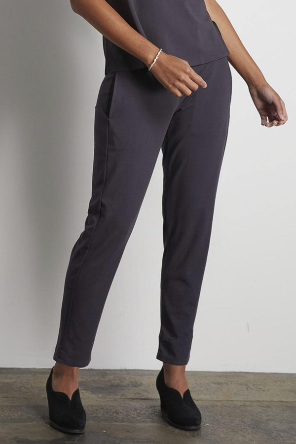 Charcoal Straight Pant