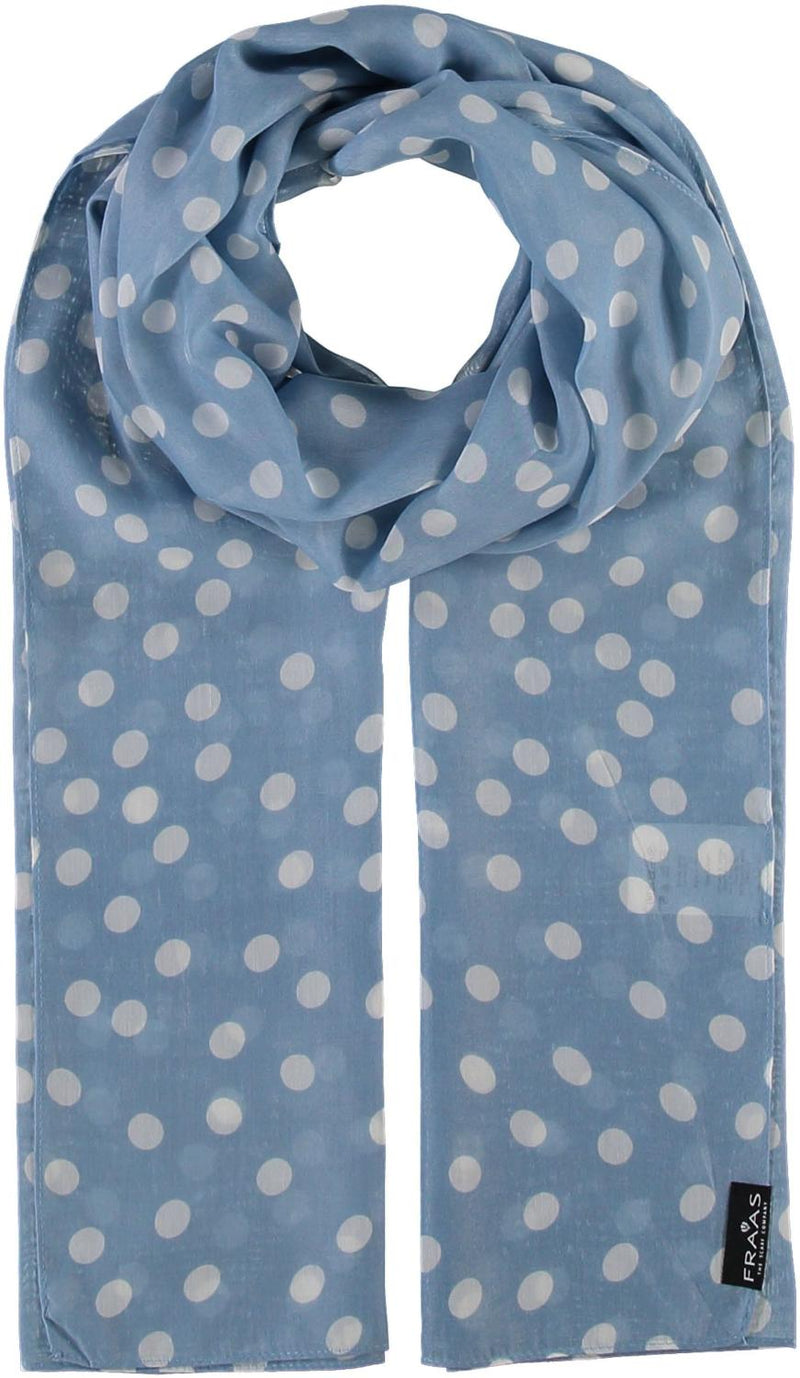 Denim Dot Scarf