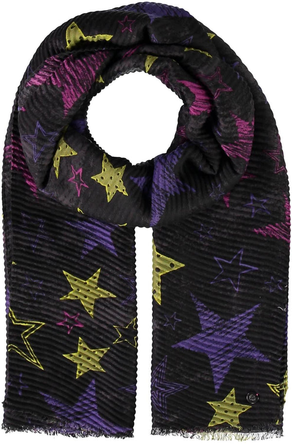 Pleated Star Scarf