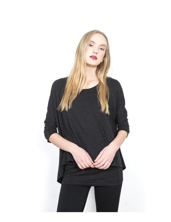 Charcoal Layer Top
