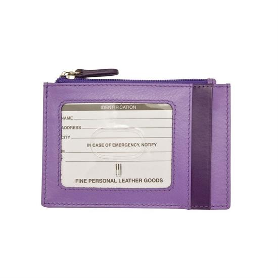 Two Tone Purple Credit Card Holder