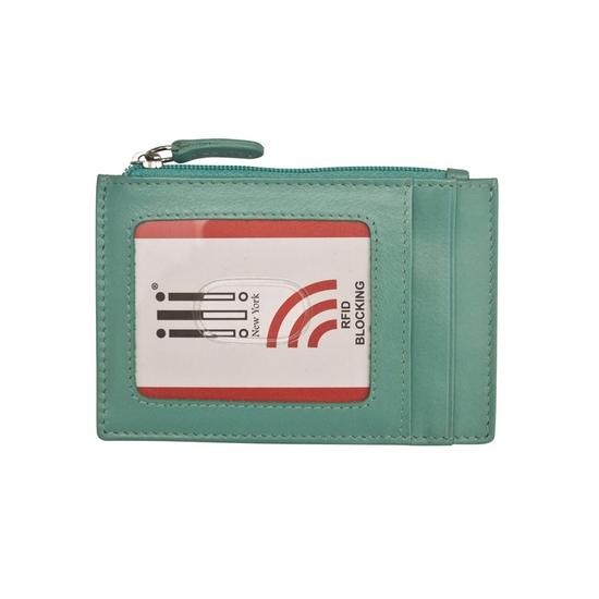 Turquoise Credit Card Holder