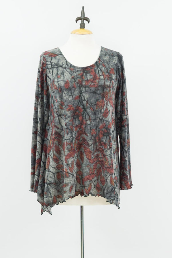 Gray Autumn Tunic