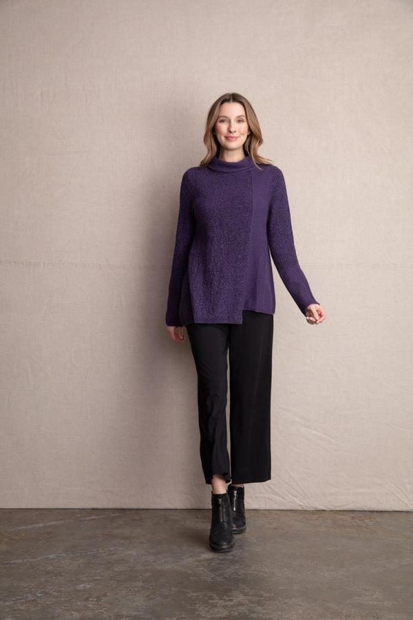Grape Scramble Sweater