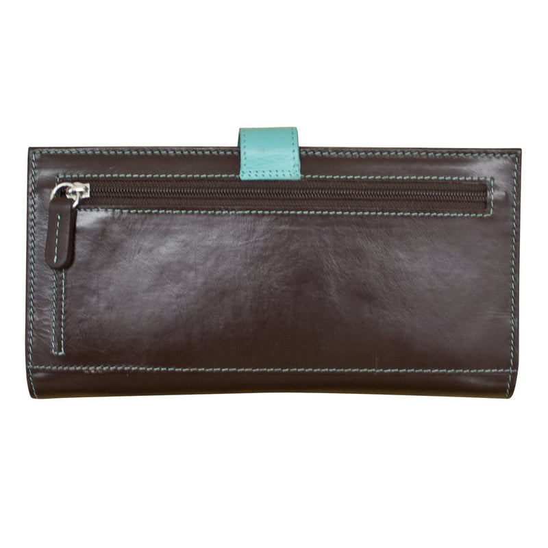Turq Large Leather Wallet