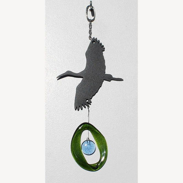 Blue Heron Recycle Chime