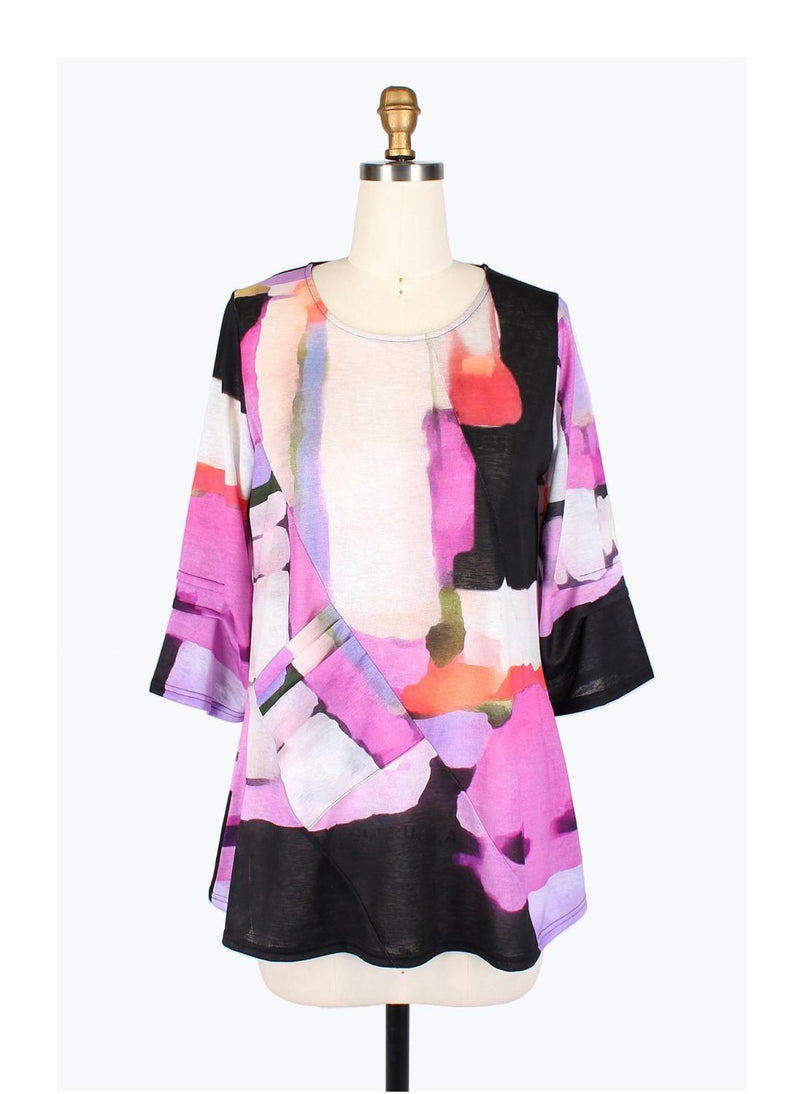 Watercolor Pinks Pocket Tunic