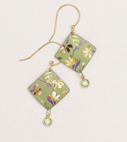 Green Sonnet Earring