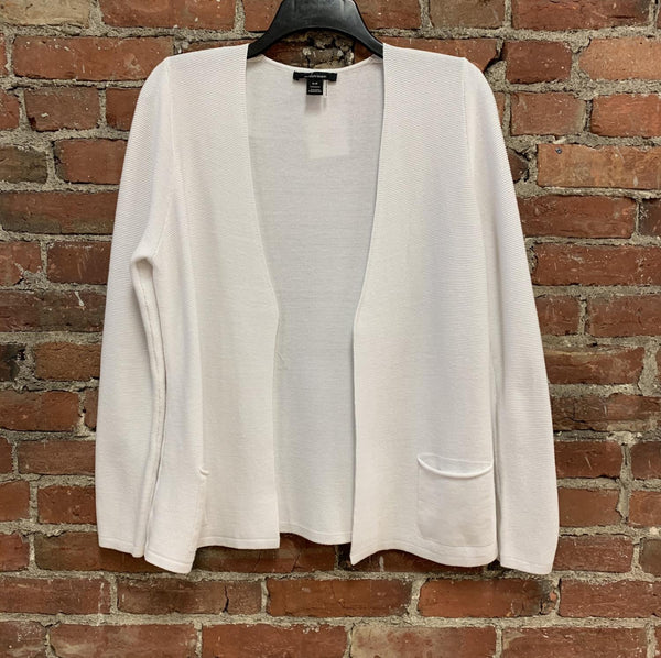 White Simple Cardi