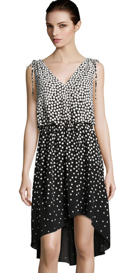 Ombre Dot Hilo Dress