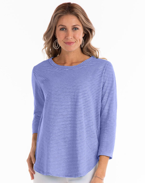 Bay Pinstripe Top