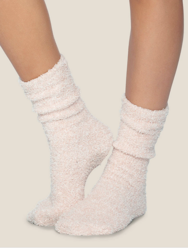 Pink Cozy Socks