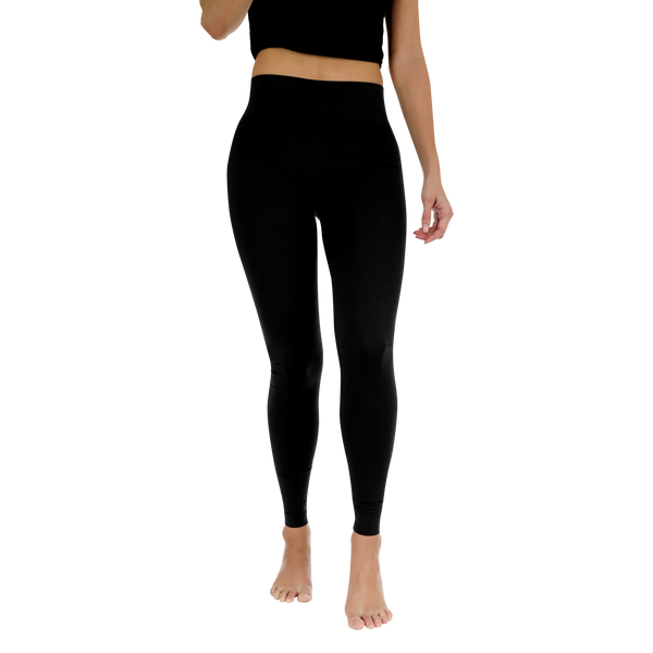 Black Basic Legging