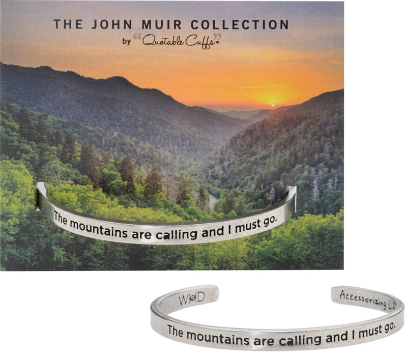 Mountains are Calling Bracelet