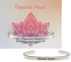 Peaceful Heart Bracelet