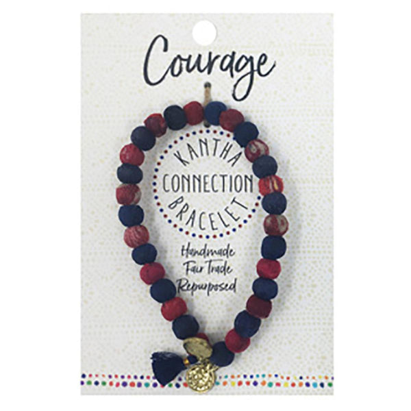 Courage Kantha Bracelet