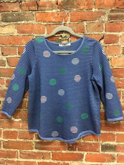 Eco Textured Dot Sweater