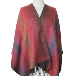 Bordeaux Soft Poncho