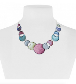 Pastel Circles Necklace