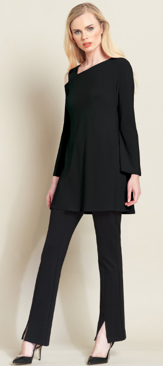 Drop Shoulder Bell Sleeve Tunic