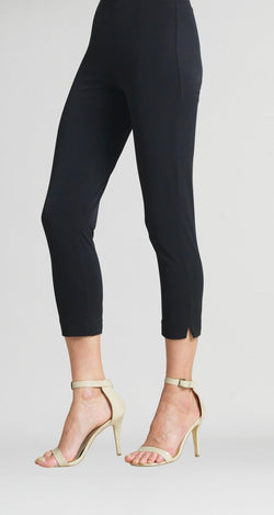 Pull On Capri Black