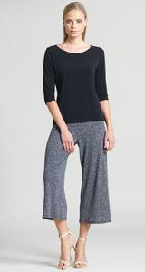Herringbone Gaucho Pants