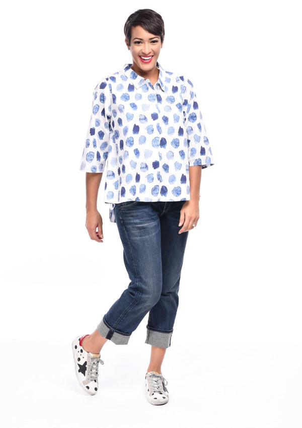Azure Button Down