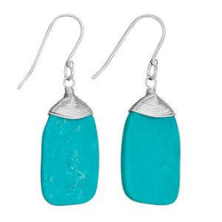 Turquoise Wrap Earring