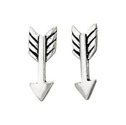 Straight Arrow Sterling Studs