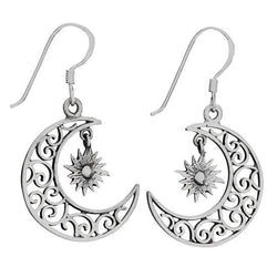 Sterling Starlight Earring