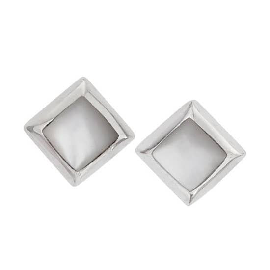 Hidden Glow Sterling Studs