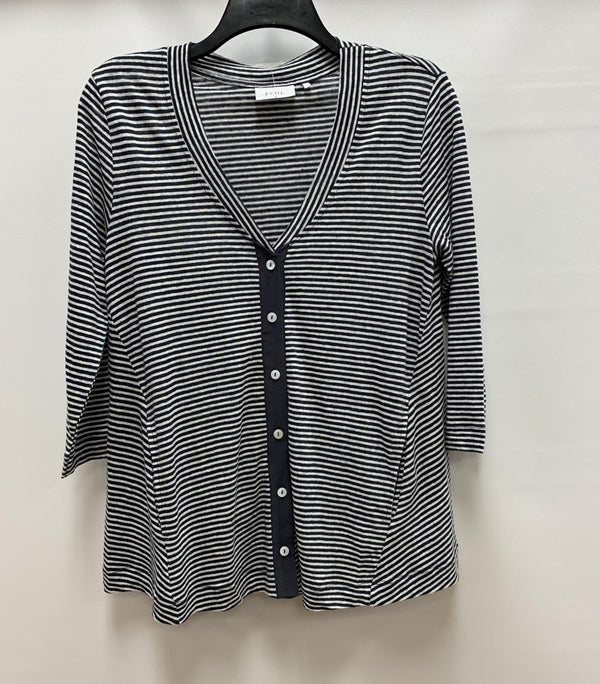 Linen Stripe Button Down