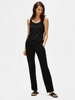 Crepe Pocket Straight Pant