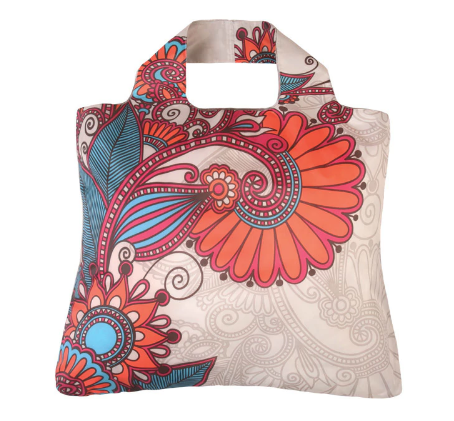 Paisley Roll-Up Bag