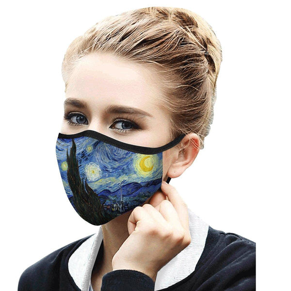 Van Gogh Starry Night Face Mask