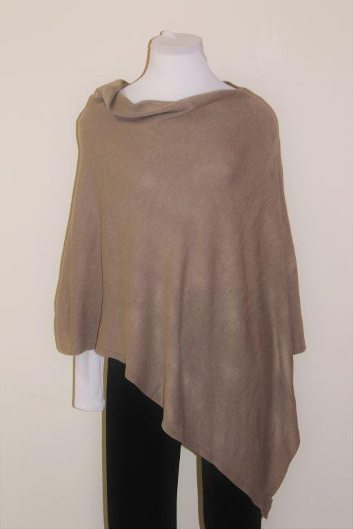 Tan 5-Way Poncho