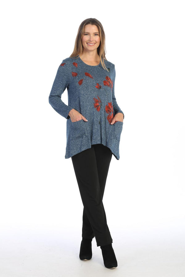 Poppies Pocket Tunic
