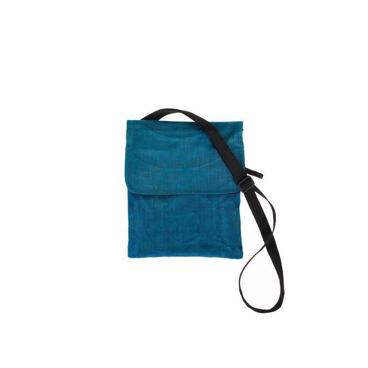 Fair Trade Teal Passport Bag