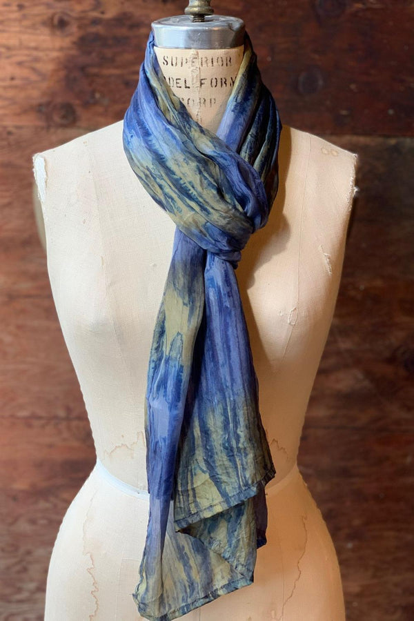 Silk Watercolor Scarf