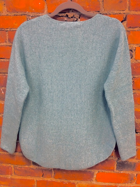 Eco Sage Pullover Sweater