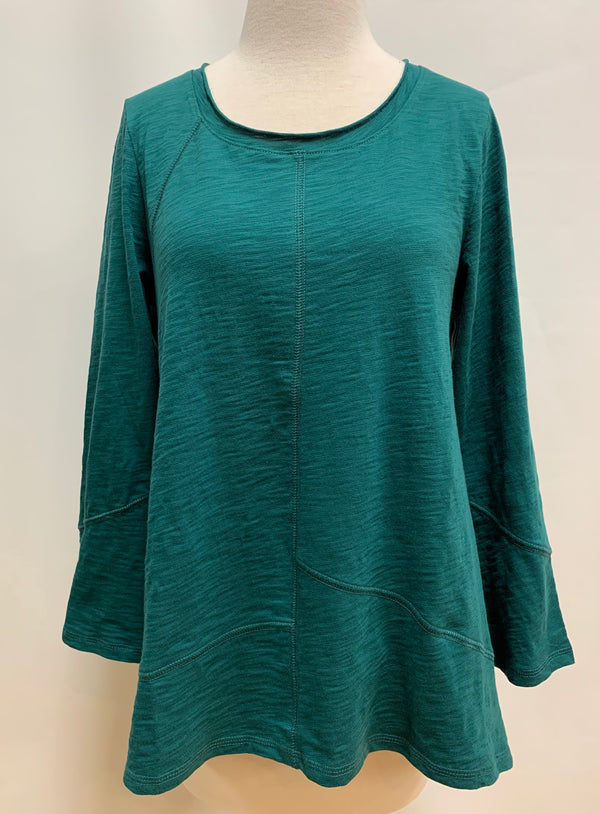 Alpine Pieced Cotton Tunic