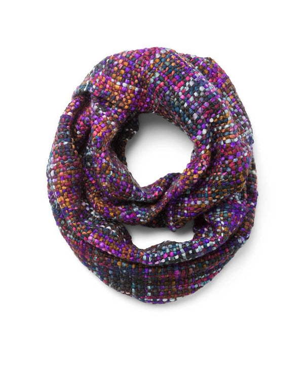 Amethyst Infinity Woven Scarf