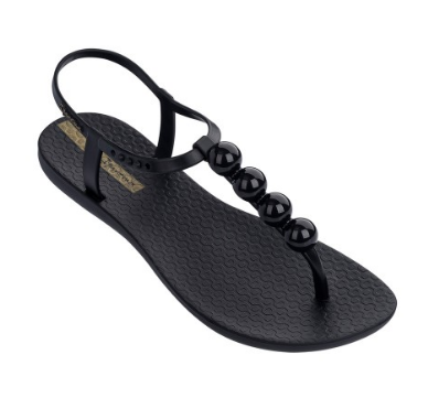 Black Dot Sandal